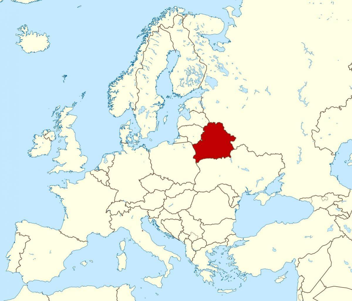 Lukašenko prisilio avion Ryanaira da sleti u Minsk kako bi uhitio oporbenog blogera Bjelorusija-na-karti-svijeta